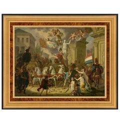 Triumphal Prince of Orange, after Oil Painting by Cornelis van Cuylenburgh
