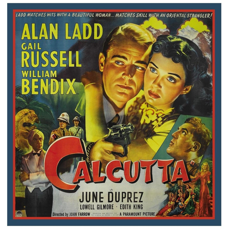 Calcutta, after Hollywood Regency Movie Poster