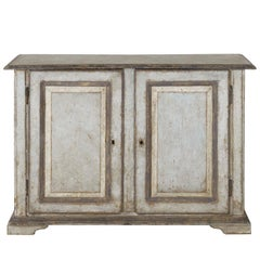 19th Century Italian Abruzzo Two-Door Buffet in Original Paint