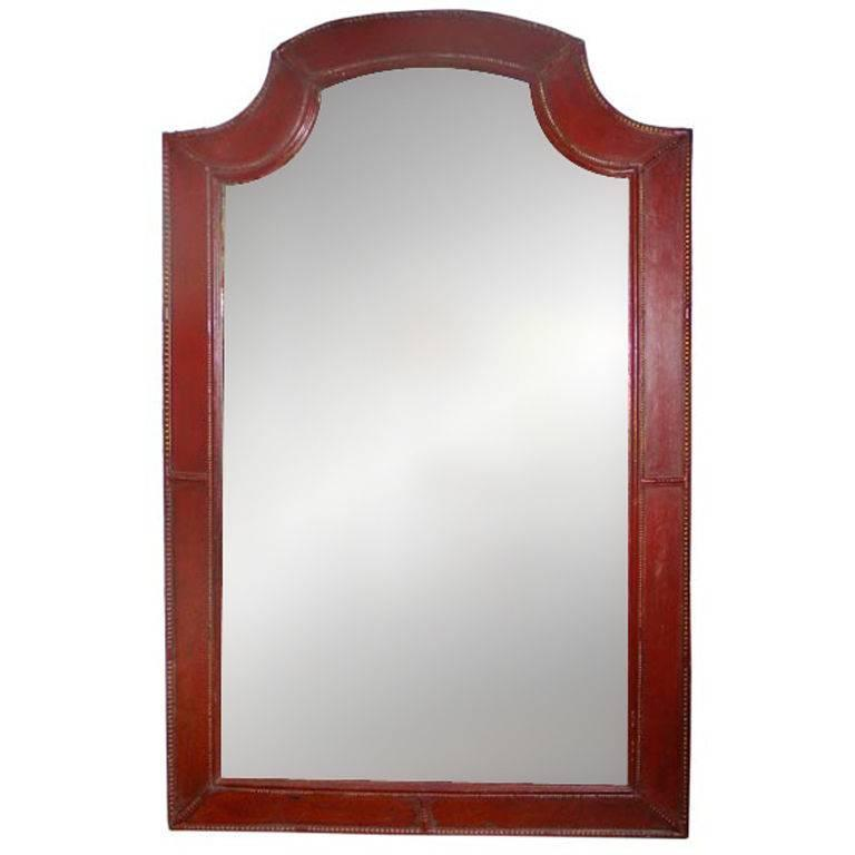 Large French Mid-Century Modern Neoclassical Mirror, Style of Louis XIV, 1930