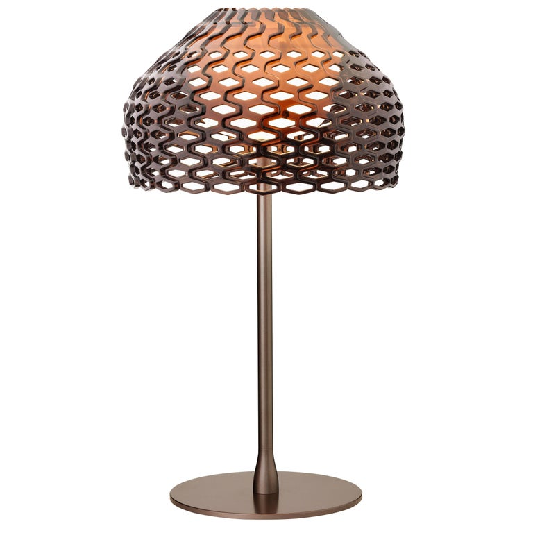 FLOS Tatou T1 Dimmable Halogen Table Lamp in Bronze by Patricia Urquiola