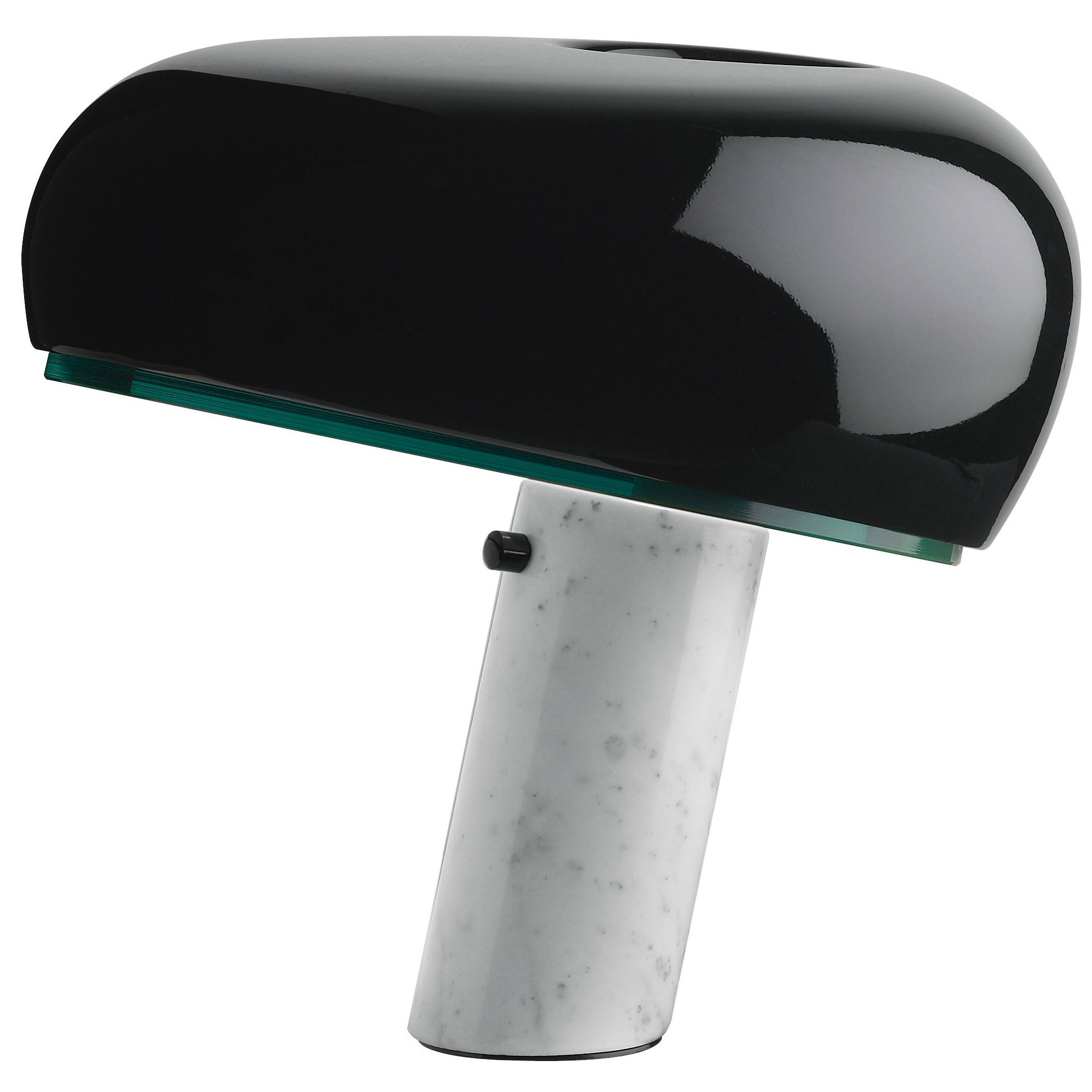 FLOS Snoopy Table Lamp in Black by Achille & Pier Giacomo Castiglioni