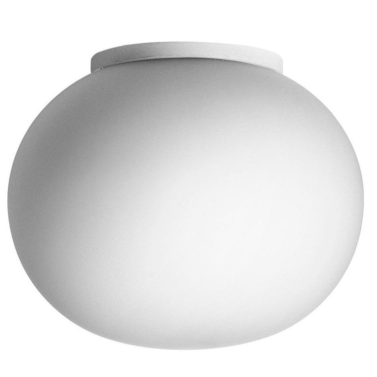FLOS Mini Glo-Ball Wall and Ceiling Light by Jasper Morrison For ...
