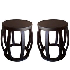 "Maxalto Collection ""Loto"" Side Tables by Antonio Citterio for BB Italia"