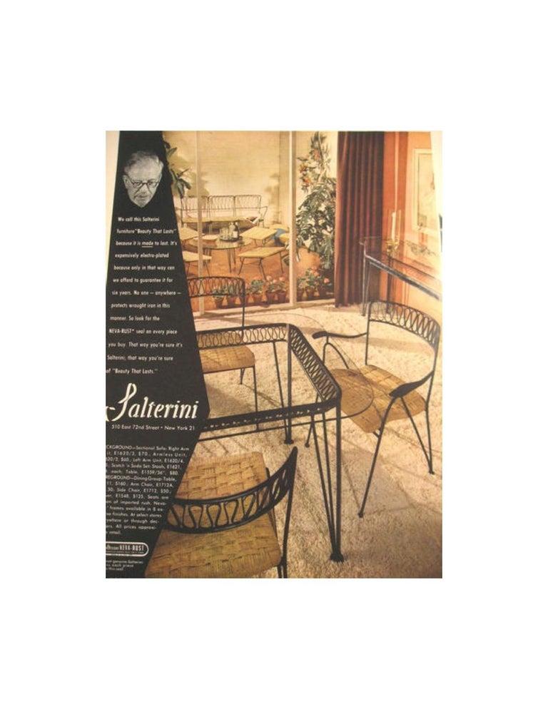 Salterini Bistro Chairs For Sale 8