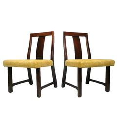 4 Dunbar Dining Chairs by Edward Wormley