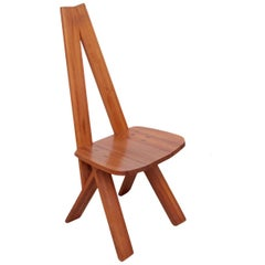 Pierre Chapo S45 Chair in Solid Elm