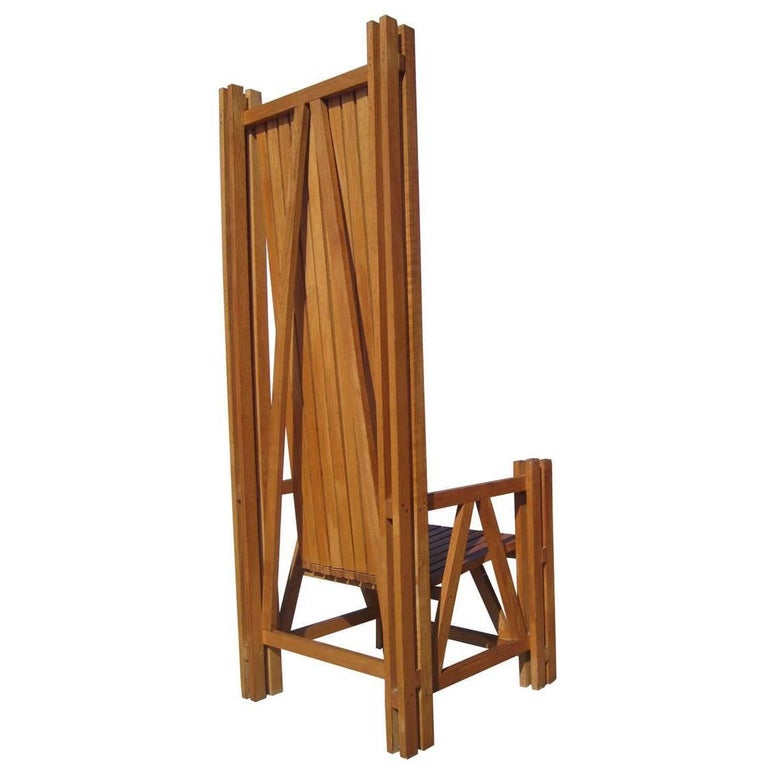 Architectonic Chair in Teak
