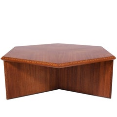 Frank Lloyd Wright Hexagonal Coffee Table for Heritage-Henredon