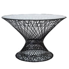 Woodard Spun Fiberglass Patio Dining Table