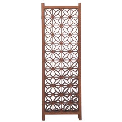 Mid-Century Modern Folding Screen