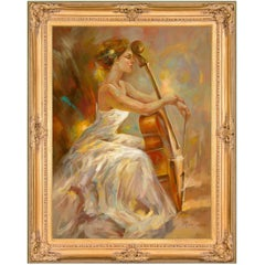 Harmony by Mia Orlova, Modern Oil Painting, After Anna Razumovskaya