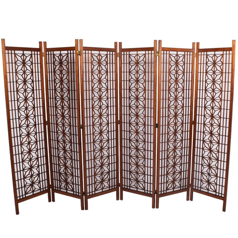Teak Screen or Room Divider