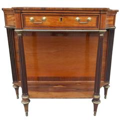 18th Century Louis XVI Console or Dessert of Kingwood, Satinwood