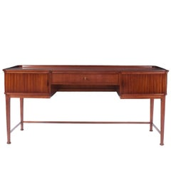 Mahogany Desk, Attributed to Josef Frank