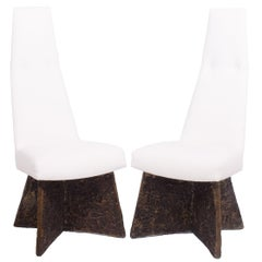 Pair of Dining Chairs by Adrian Pearsall