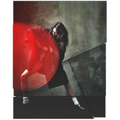 Contemporary Photography Relief, Serge Leblon, Kinga, 2017