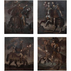 Remarkable Suite of 16th Century Italian Paintings