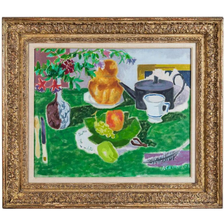 Original, Post-Impressionist Still Life Painting