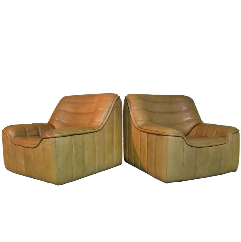 Vintage De Sede DS 84 Armchairs, Switzerland, 1970s For Sale