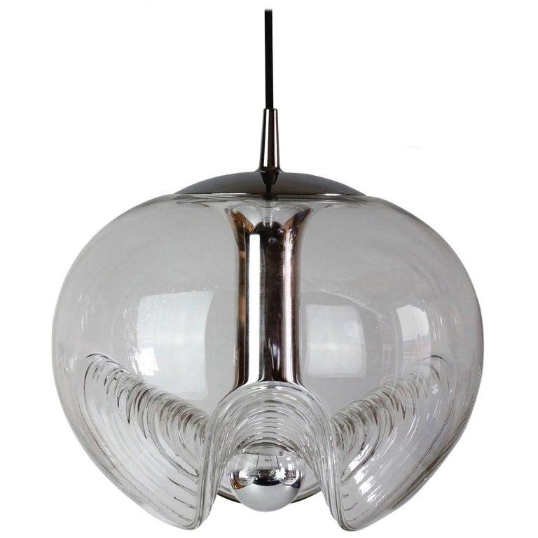 Extra Large Biomorphic Pendant Lights for Peill & Putzler 1970s