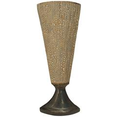 Contemporary American Textured Vase by Gary DiPasquale