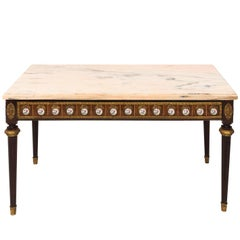 Louis Philippe Style Marble-Top Table