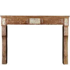 18th Century Stylish French Country Original Antique Fireplace Mantle