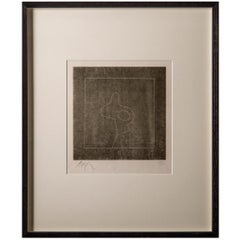 'Untitled' Woodcut by Jean 'Hans' Arp, circa 1955, Hand Signed and Numbered