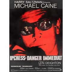 """The Ipcress File"" Original French Film Poster"