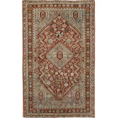 Antique Persian Qashqai Rug