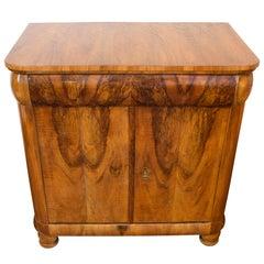 Early 19th Century Biedermeier Walnut Cabinet