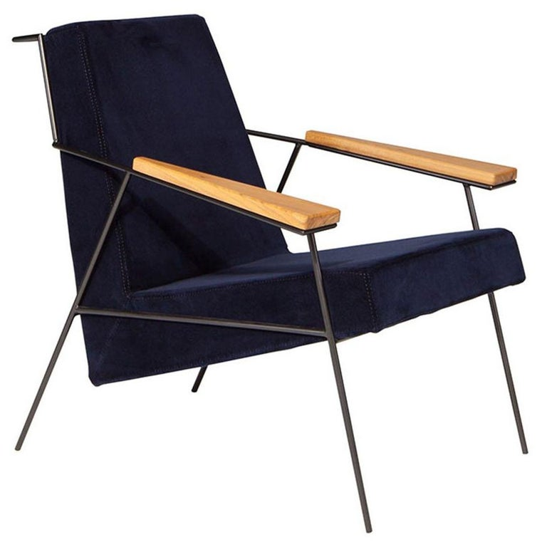 """Zina"" Contemporary Armchair Brazilian Design by Zanini de Zanine Caldas"