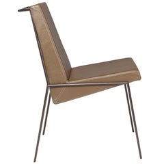 """Zina"" Contemporary Side Chair, Brazilian Design by Zanini de Zanine Caldas,"