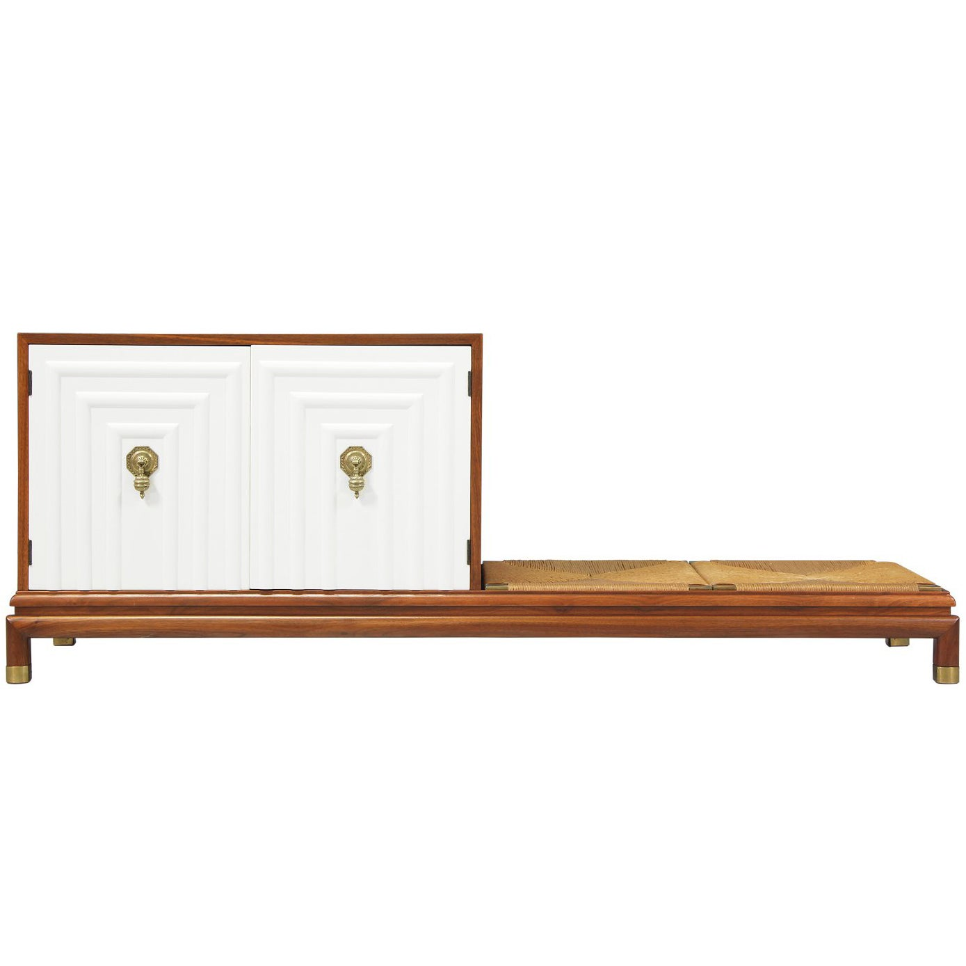 Renzo Rutili Credenza with Seating Bench for Johnson Furniture