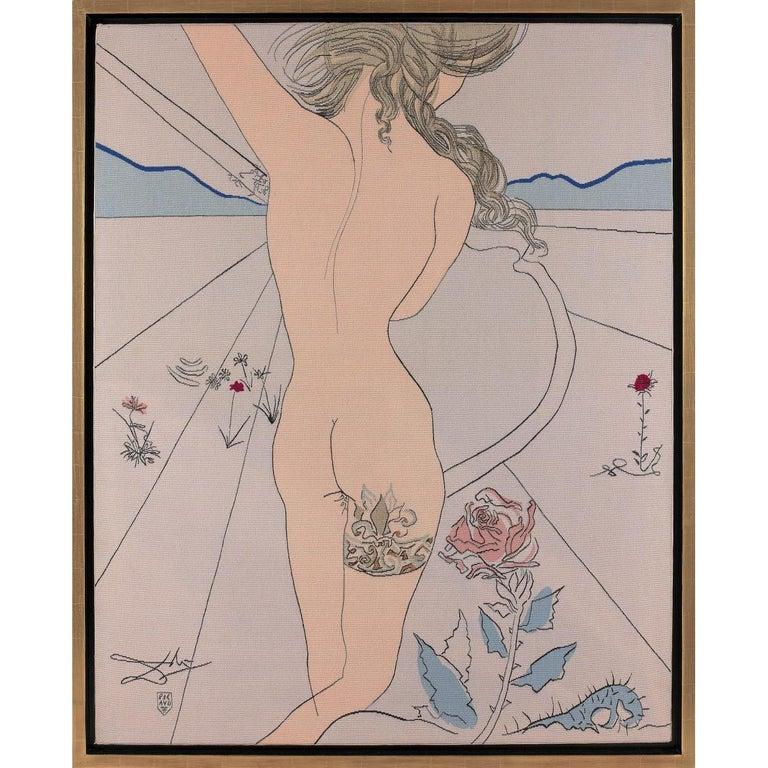 Salvador Dali Aubusson Tapestry