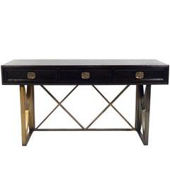 Elegant X Base Desk or Console Table
