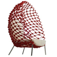 Outdoor Dragnet Lounge Chair by Kenneth Cobonpue