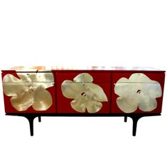 Kate Noakes Sideboard 'Poppy' in Red