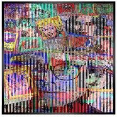 Wholar Wall Decoration Kinetic Art by Patrick Rubinstein, 2018