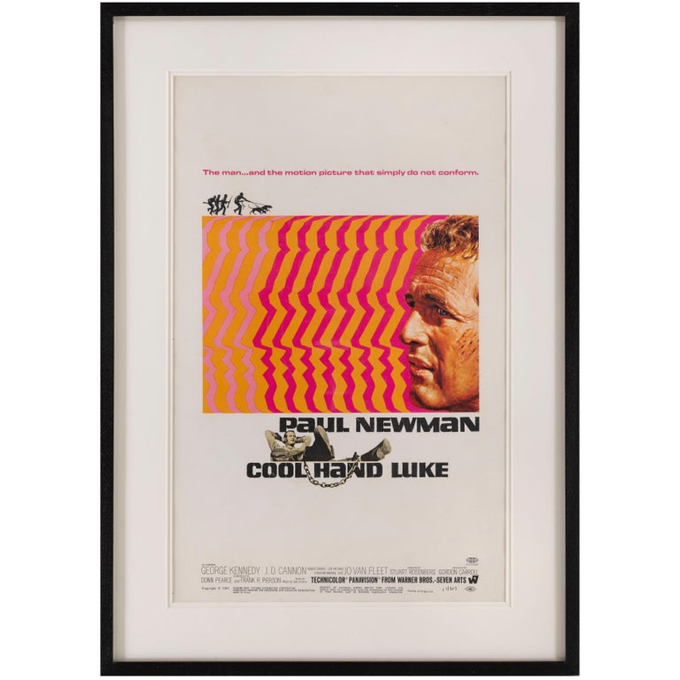 """Cool Hand Luke"" Original US Movie Poster"
