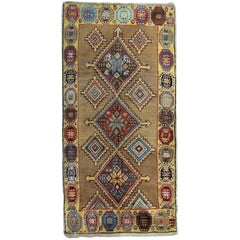 Antique Persian Rugs, Golden Carpet Rug from Bidjar