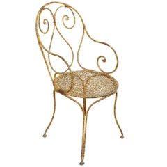French 19th Century Garden Chair