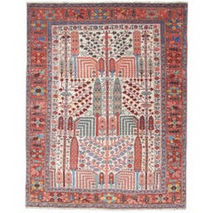 Bakhshaish Rug with Persian Garden Design