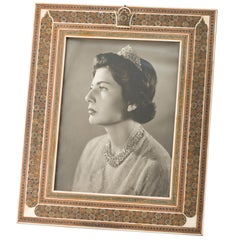 Framed Photograph of Empress Soraya of Persia