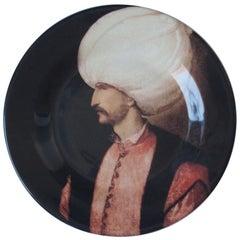Handmade Sultan Suleyman Ceramic Dinner Plate
