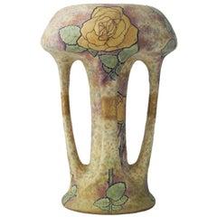 Art Nouveau Amphora Vase by Amphora, Austria, circa 1900