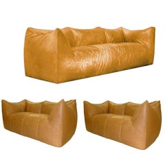 Le Bambole Sofas, Design Mario Bellini B&B Italia, Set of Three