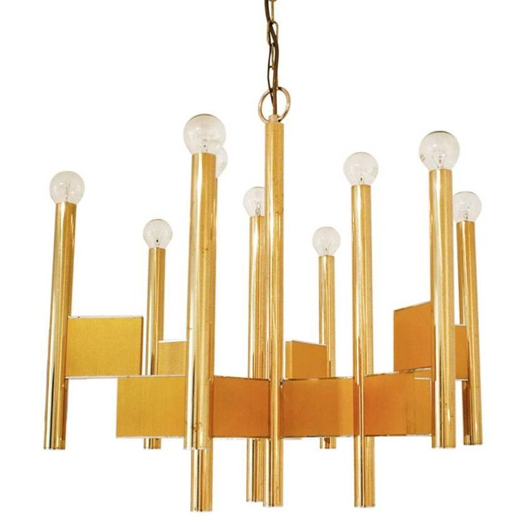 Pendant Light by Gaetano Sciolari, Italy, 1970