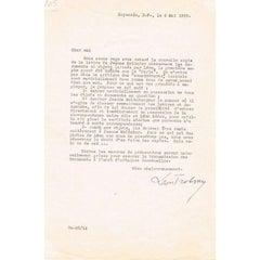 Leon Trotsky Autographed Letter